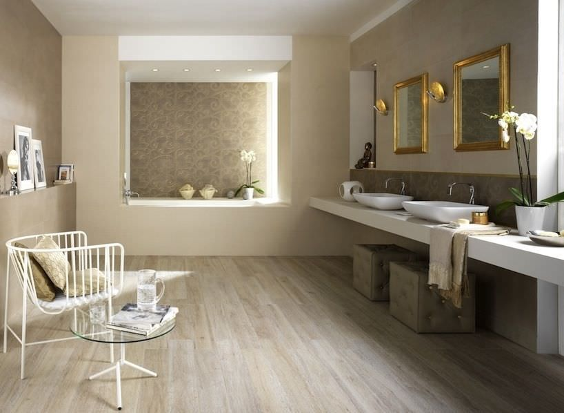 1000 images about salle de bain on pinterest led towel storage and ps - Salle De Bain Parquet Carrelage