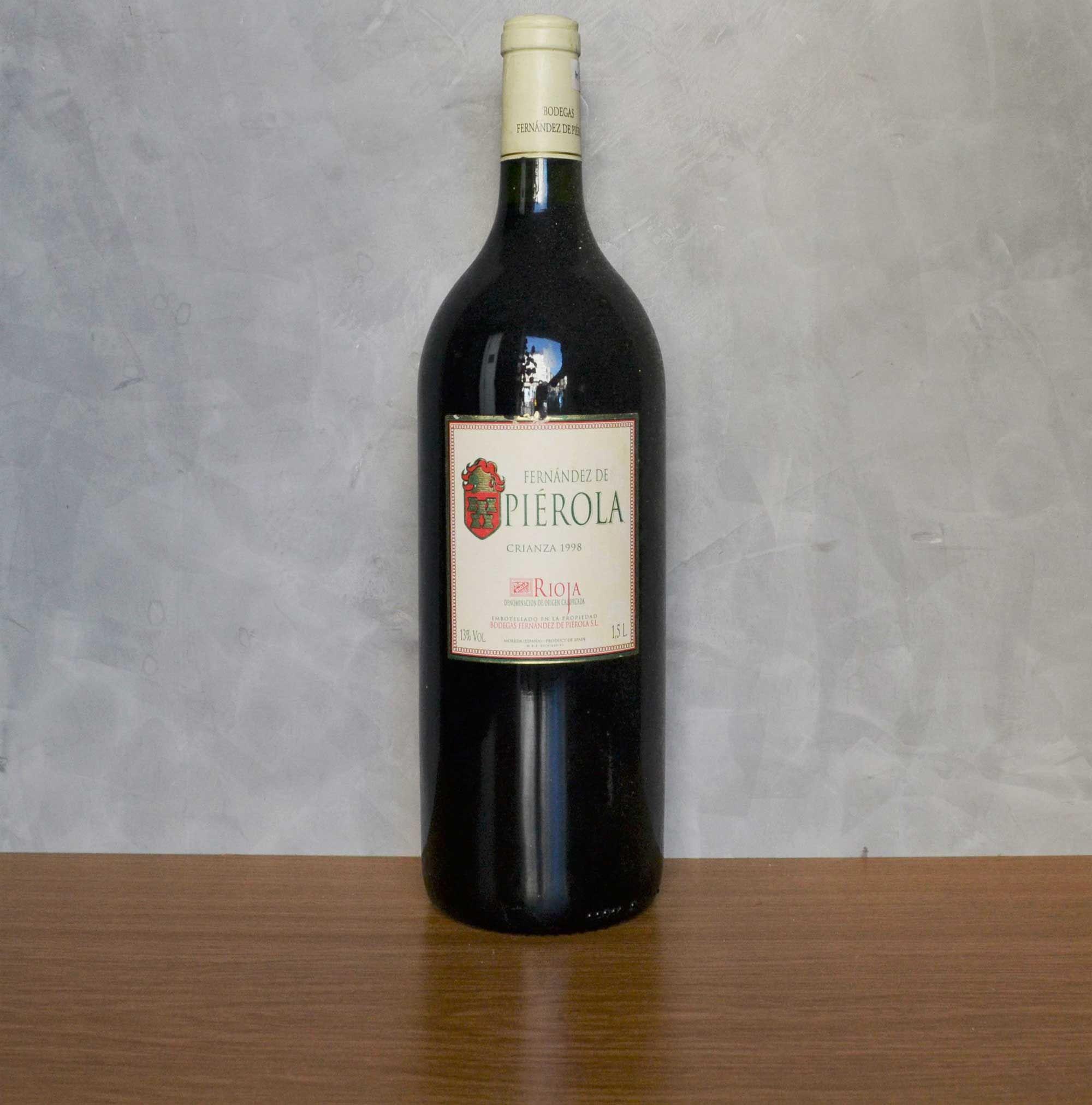 Compro Botellas De Vino Antiguas Fernandez De Pierola Magnum Crianza 1998 Vinos Antiguos Con