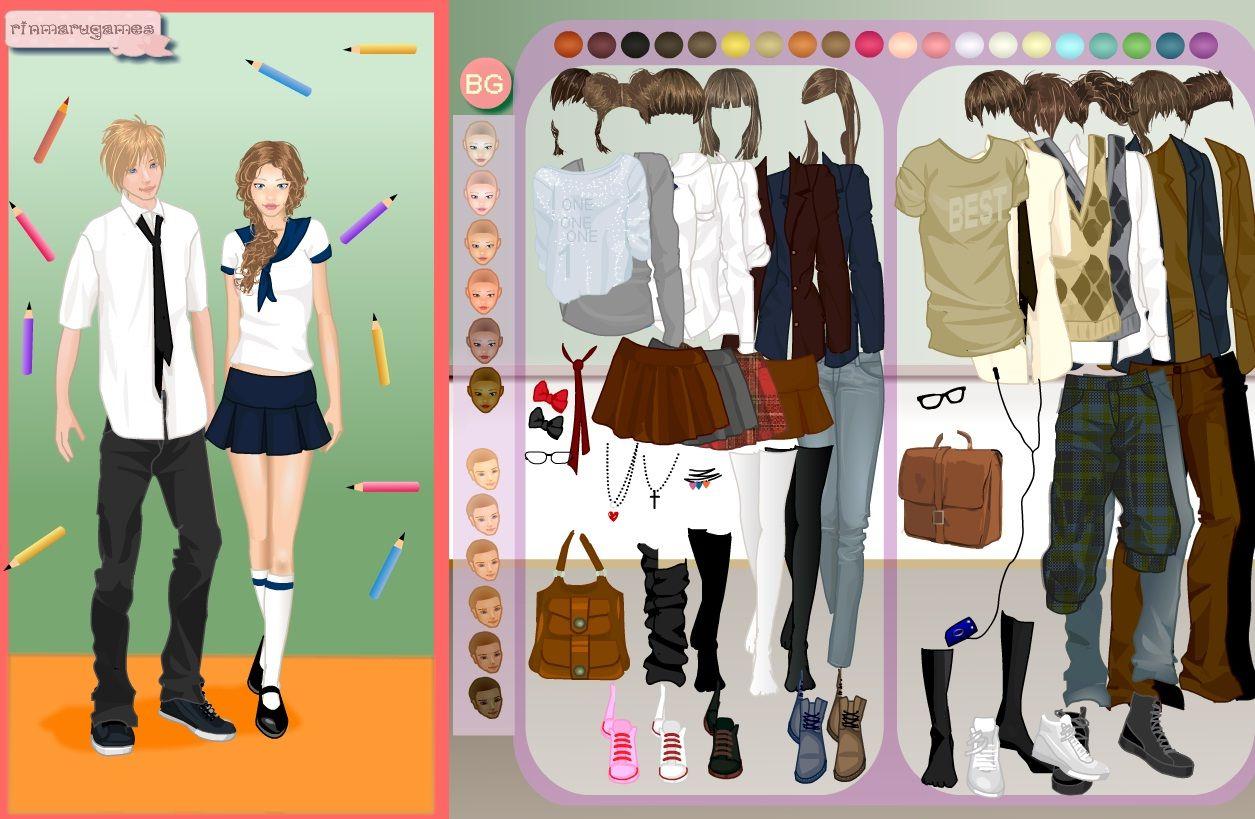 6c1f7e447 Juegos de vestir Vestir a la Chica y al Chico