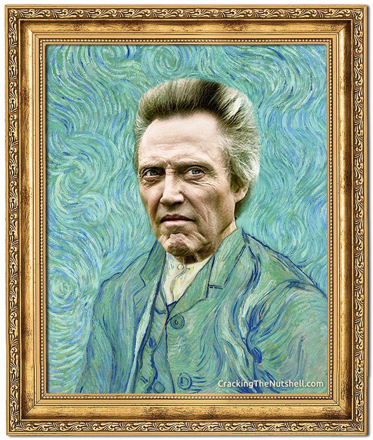 Christopher Walken As Vincent Van Gogh Self Portrait Reads