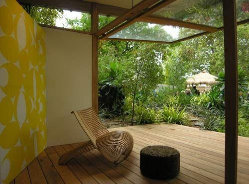 Outdoor Yoga Studio Yoga Space House Styles Yoga Studio