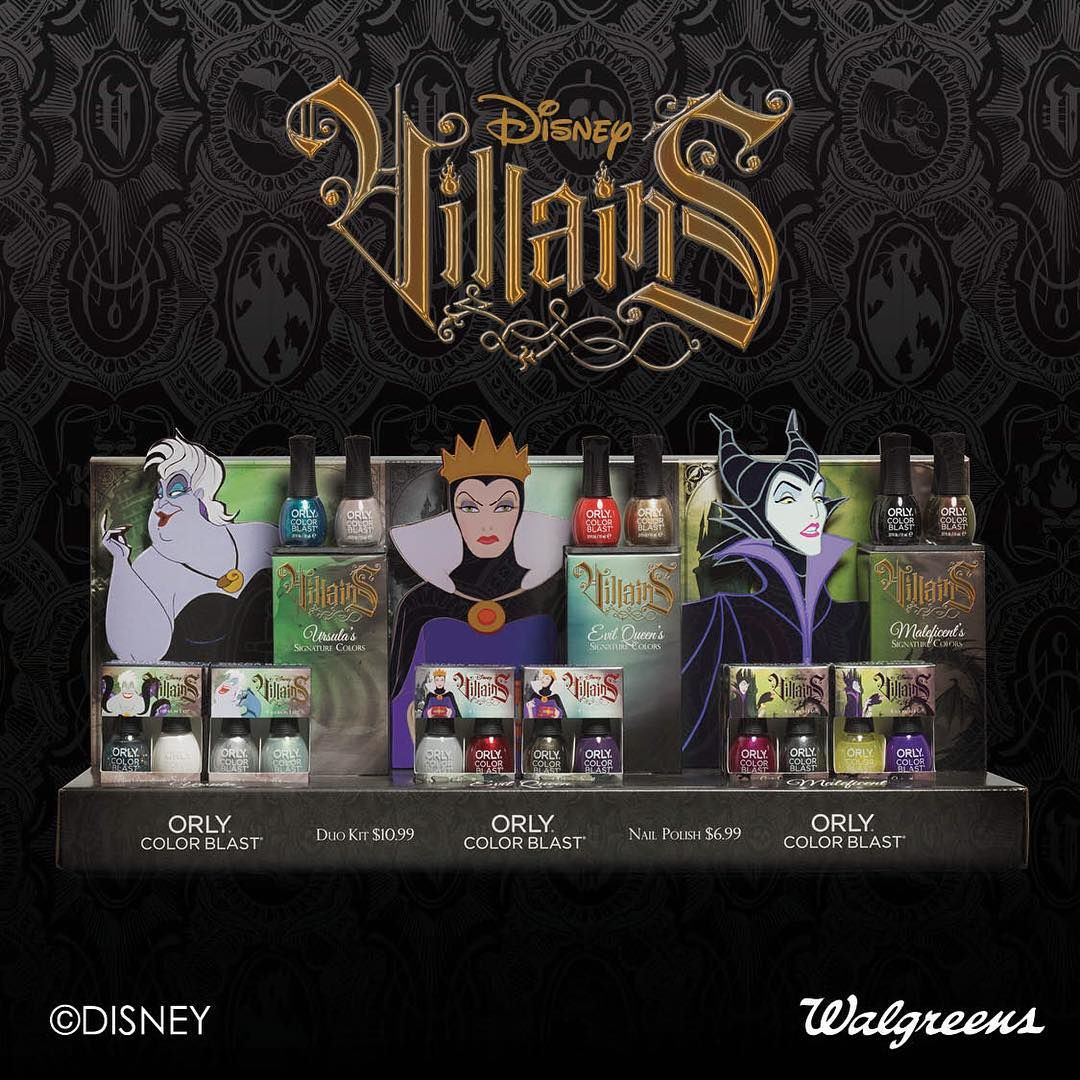 It feels good to be bad with ORLY s new Disney Villians  Color Blast  Collection 5394094d6