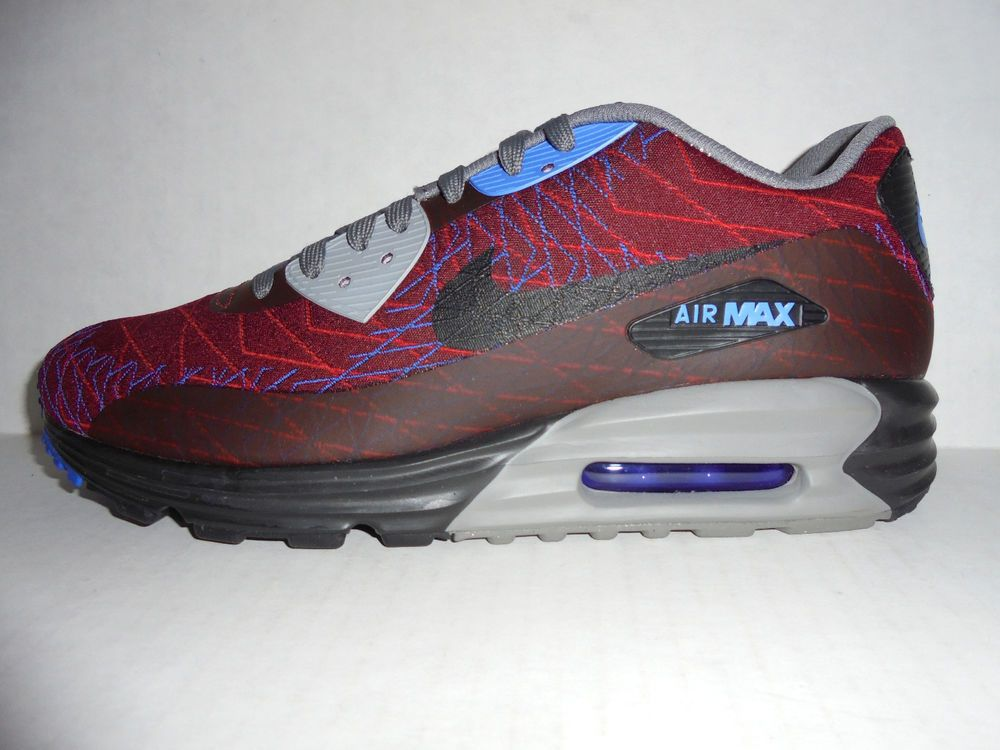 new lifestyle hot products look for 654468 600 New Mens Nike Air Max Lunar 90 Jacquard Running Shoes ...