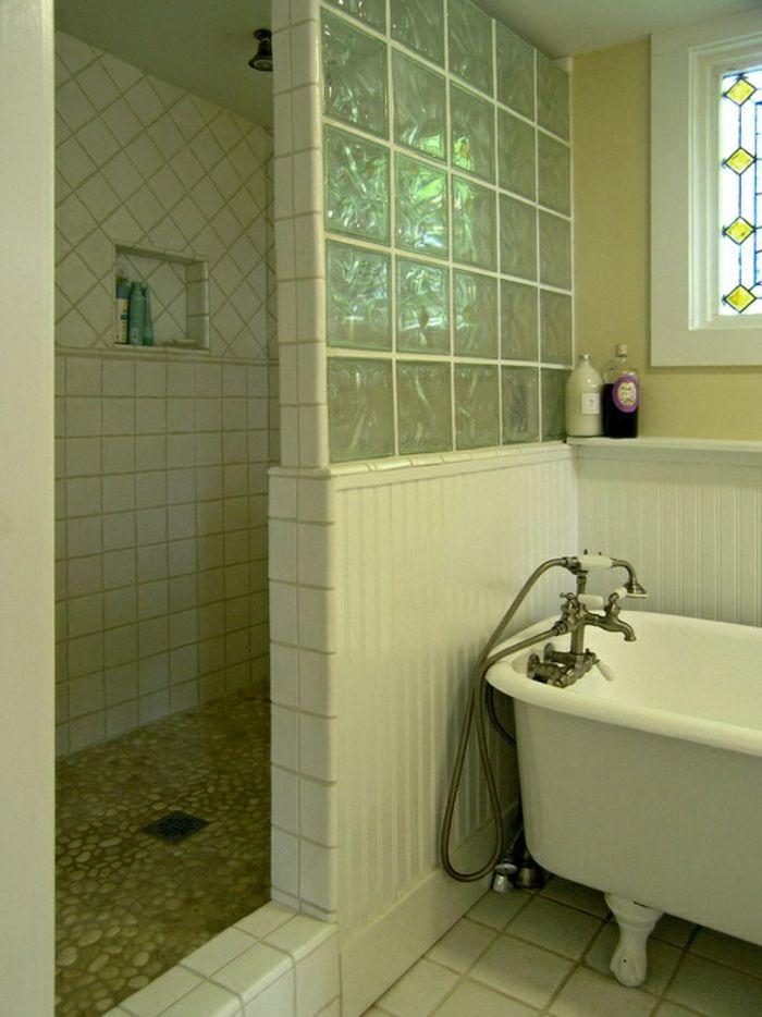 Mettons Des Briques De Verre Dans La Salle De Bains Wet Rooms