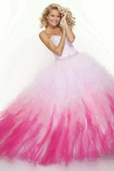 Details about New Colorful Ball Gown Quinceanera Dress Wedding ...
