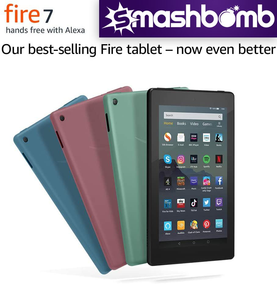 Win An Amazon Fire 7 Tablet Fire Tablet Kindle Fire Tablet Tablet
