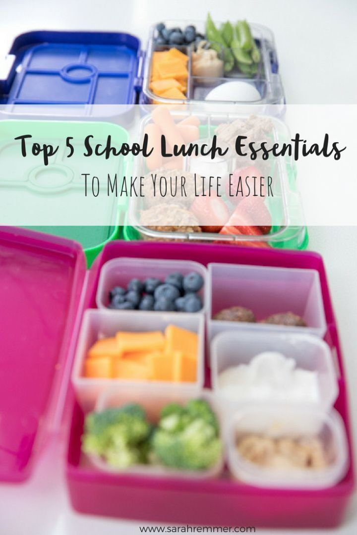 Top 5 School Lunch Essentials to Make Your Life Easier Having 3 kids myself, I know first-hand how much work packing lunches is, but over the years I've found some products and tools that make this whole process a lot easier and less stressful. Pinterest-y, stunning, time-consuming lunches just aren't a reality. |