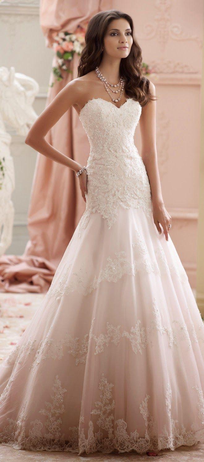 David Tutera for Mon Cheri Spring Bridal Collection wedding