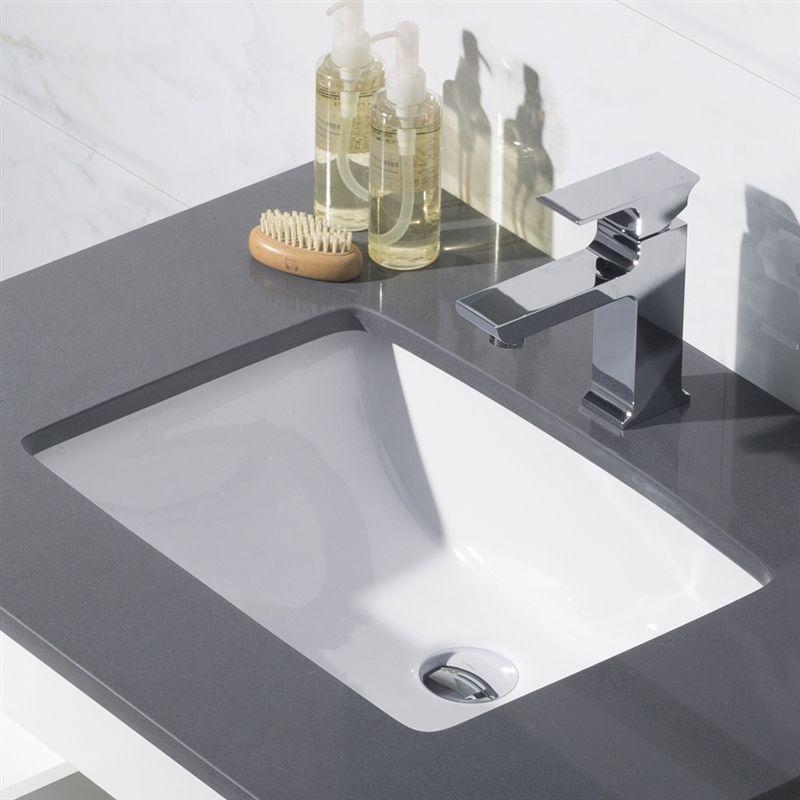 Moda White Porcelain Undermount Sink Basin Under Counter Basin Modern Bathroom Sink Sink Sinks For Sale Porcelain undermount bathroom sink