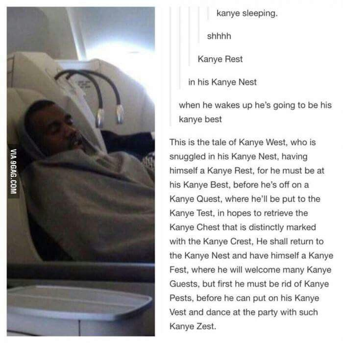 The tale of Kanye West