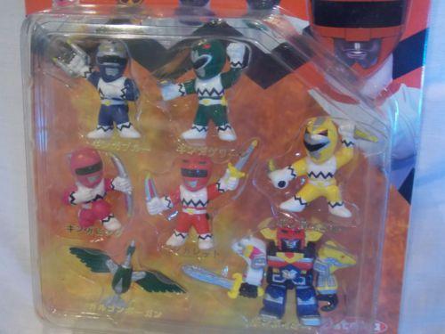 Power-Rangers-Lost-Galaxy-Gingaman-Pocket-Hero-Mini-Figure-Megazord-Set-YUTAKA