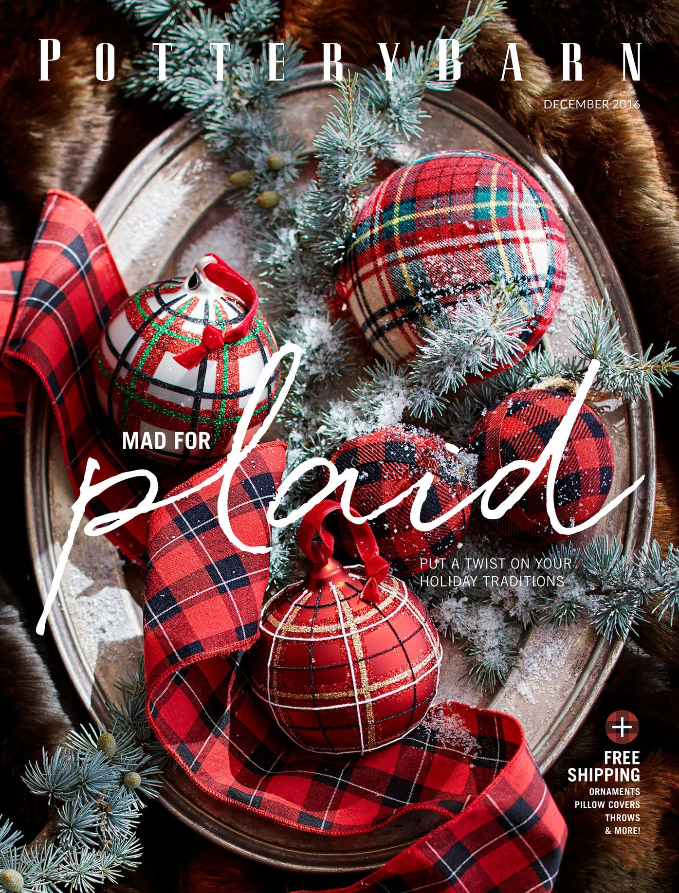 December 2016 Plaid Mad For Put A Twist On Your Holiday