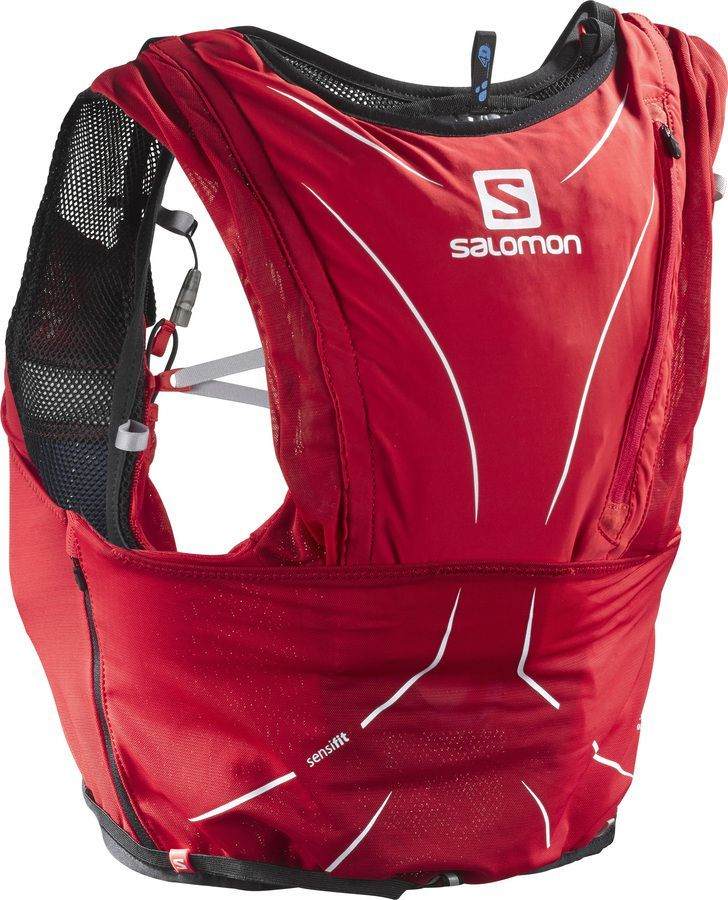 Salomon Advanced Skin 12 Set Unisex Pack Wildfire Sports Trek Running Vest Hydration Pack Trail Running Vest