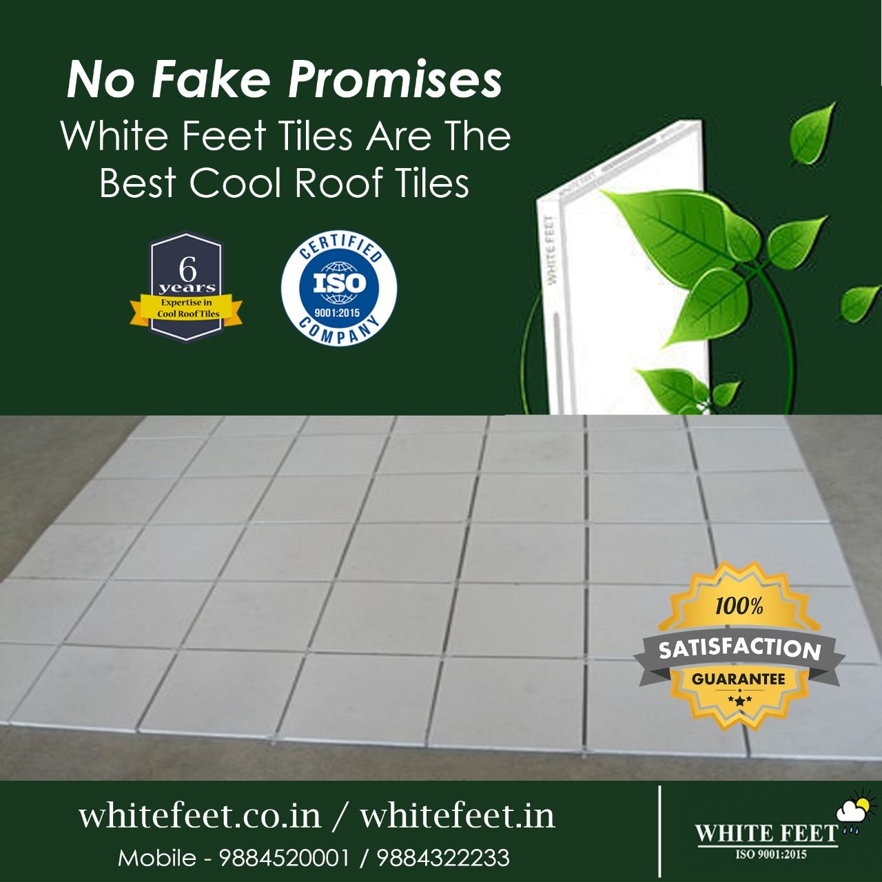 Pin On White Feet Cool Roof Tiles