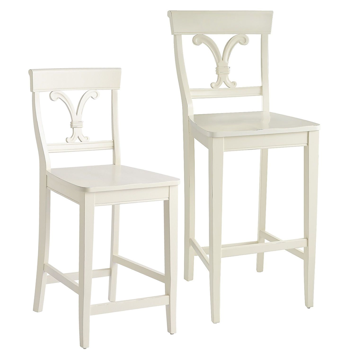 Vienna Bar & Counter Stools Antique White