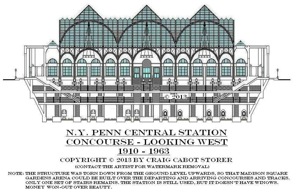 Pin On Old New York Penn Central Station