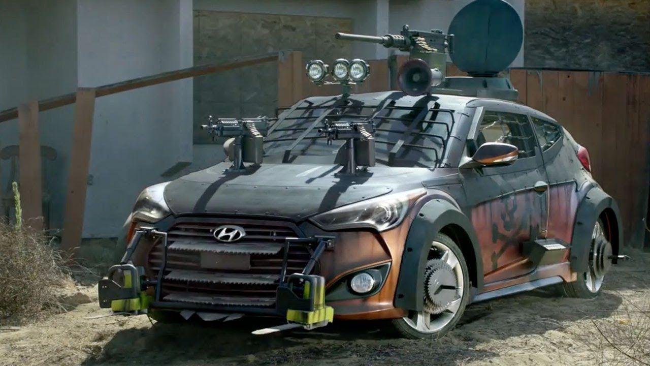 #Hyundai y su auto para sobrevivir a ataque zombie