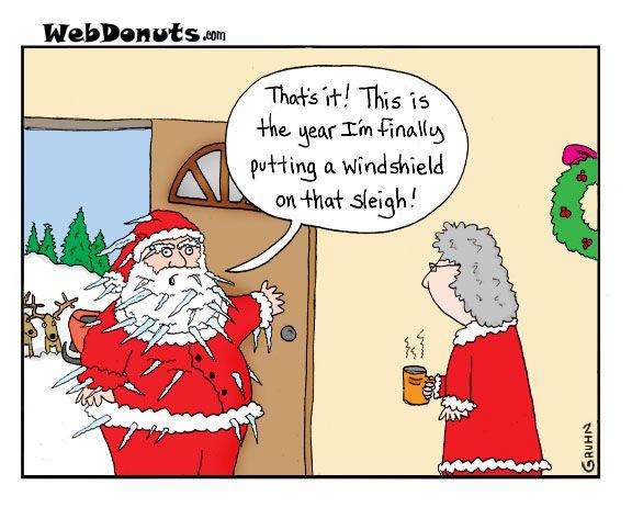 Windshield Christmas Humor Christmas Comics Cartoon Christmas Cards