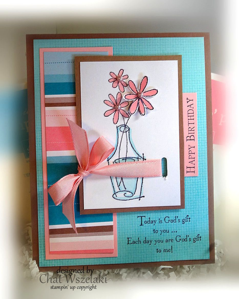 Sassy Stems, Me, My Stamps and I, Stampin' Up