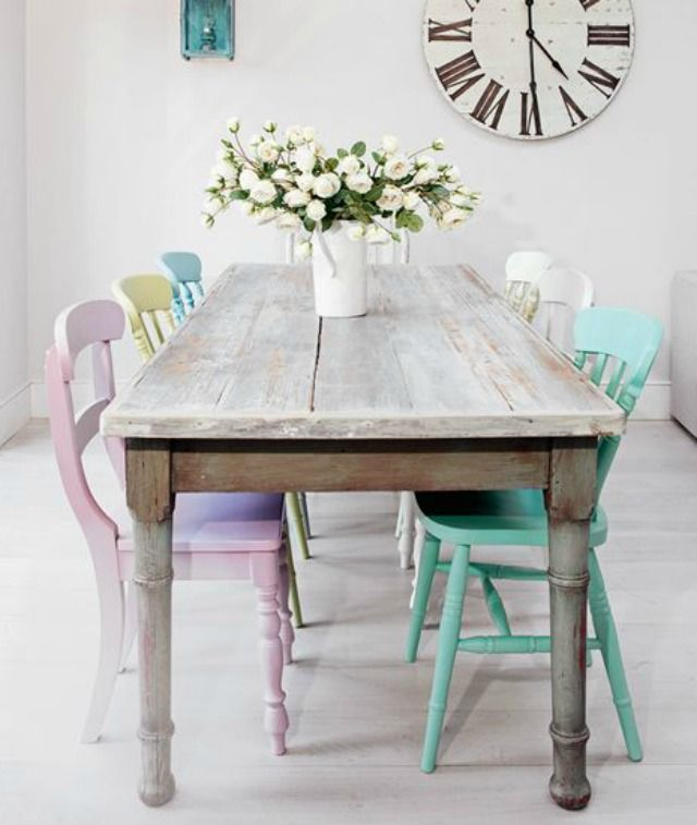 Shabby Chic Kitchen Table Centerpieces: 35 Shabby Chic Rooms That'll Make Your Heart Skip A Beat