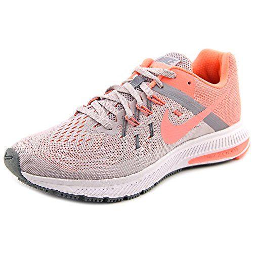 Atomic Pink Nike Air Zoom Winflo 2 Nike Womens Zoom Winflo 2 Vlt AshAtmc PnkMtlc Cl GryC Running Shoe ...