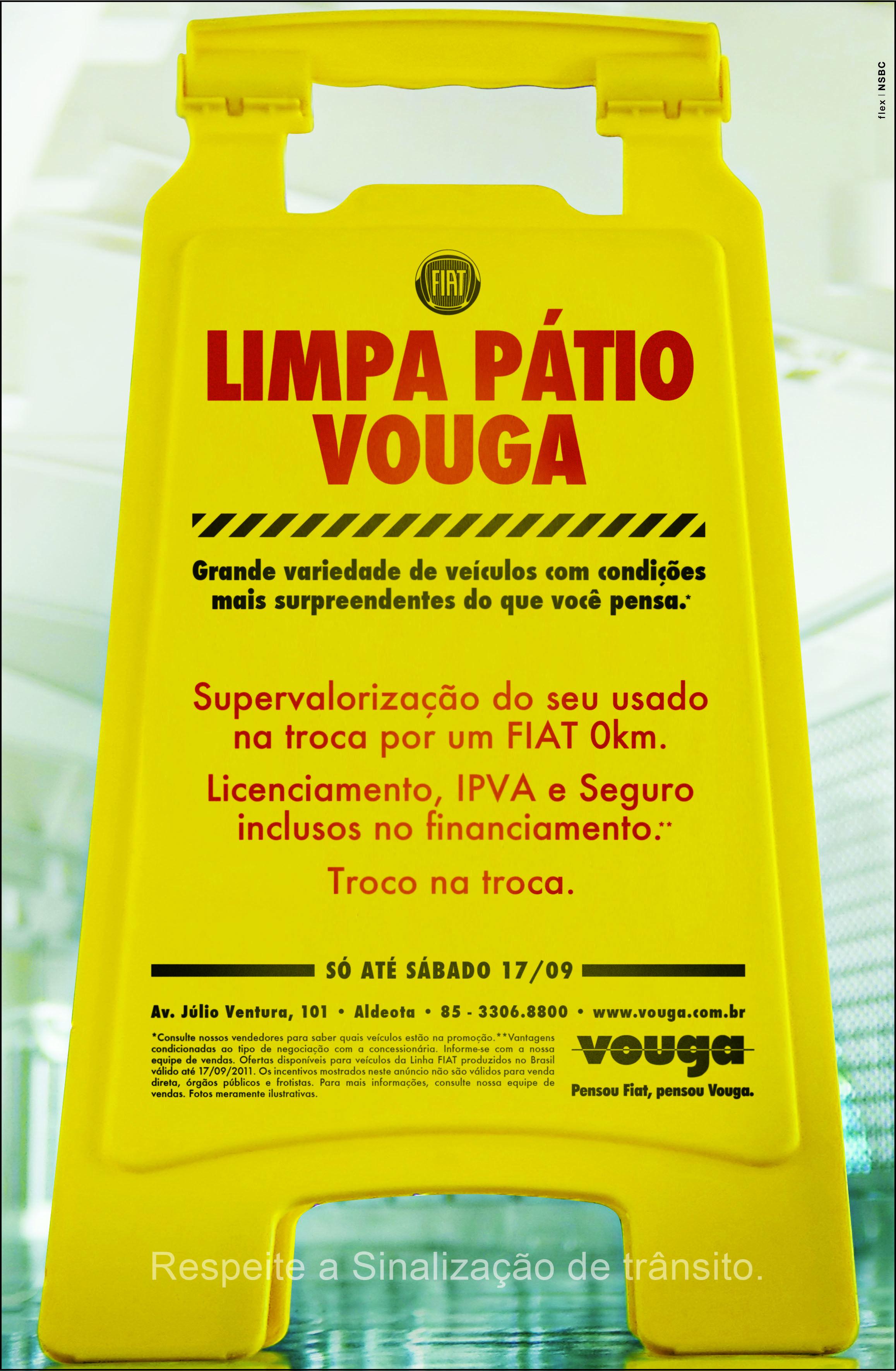 Flex cria para Vouga - Limpa Pátio