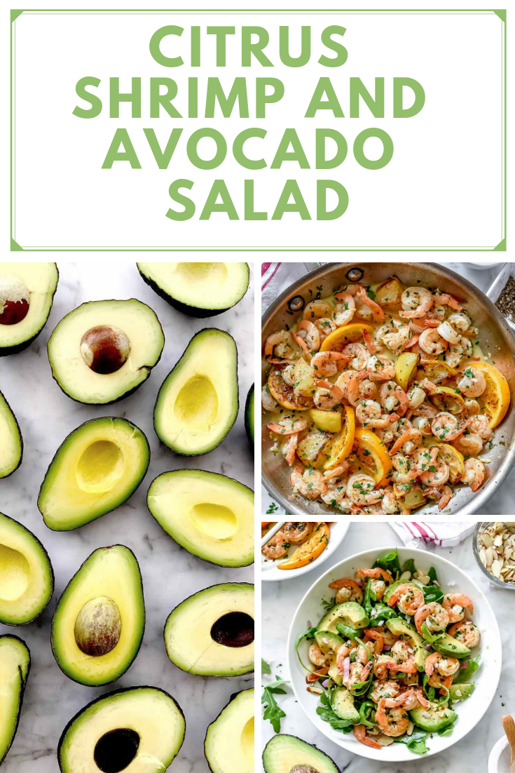 Citrus Shrimp Avocado Salad