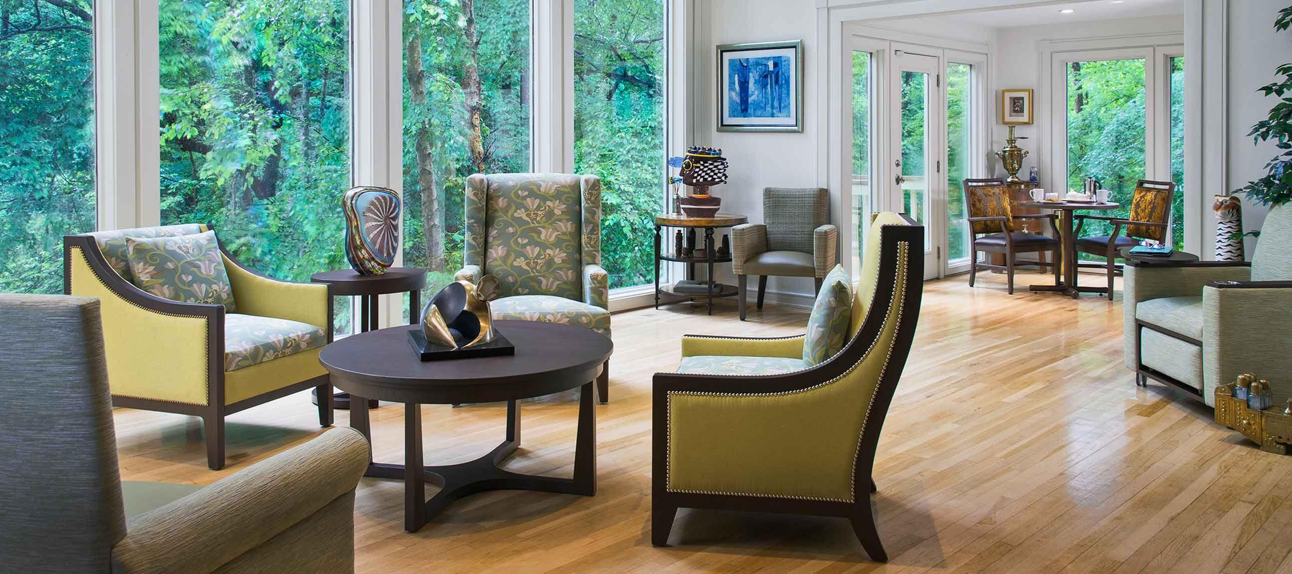 Kwalus senior living healthcare furniture is designed