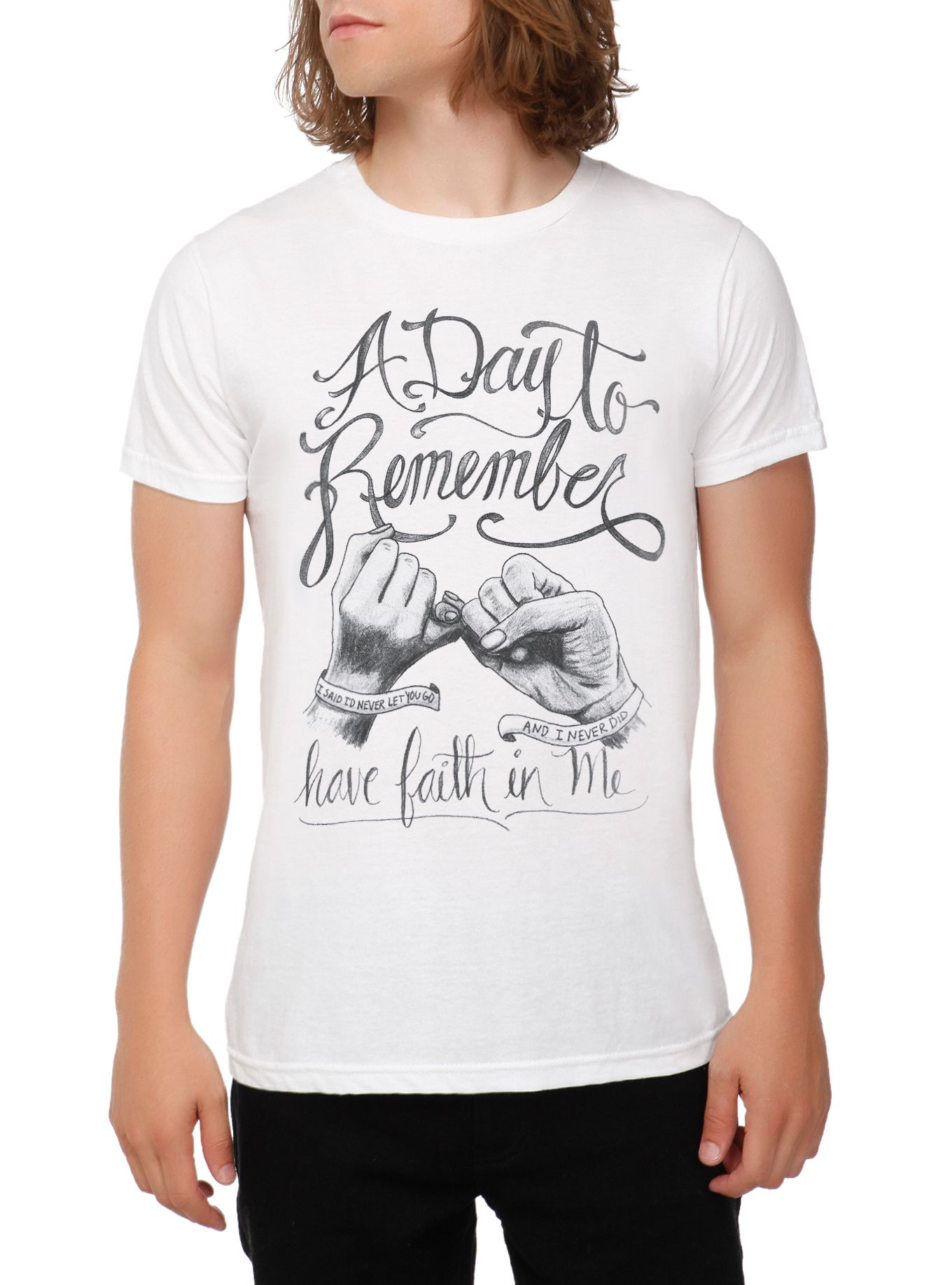 A Day To Remember Have Faith In Me T Shirt A Day To Remember