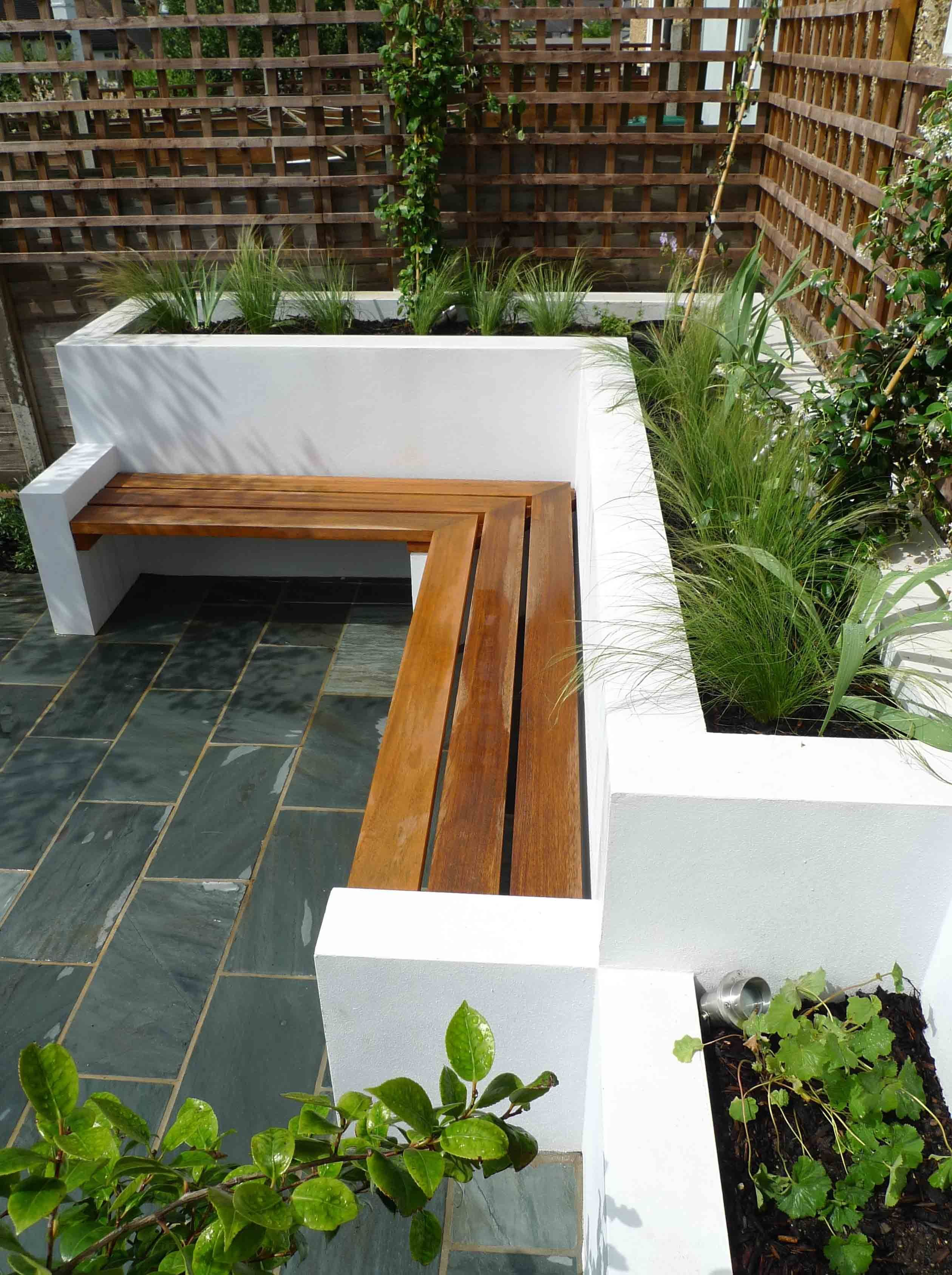 Delicieux Simple And Pretty Site Planning: Contemporary Garden Design, West Finchley