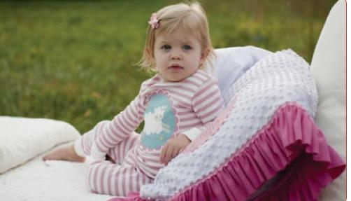 Cutest, Softest PJs Ever! 100% Organic Cotton. Personalized. www.clarabelleandthehen.com #underthenile#clarabelleandthehen