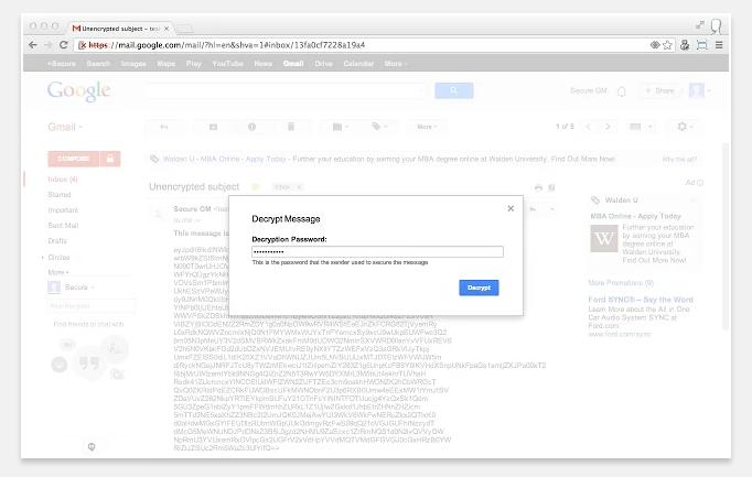 Secure Gmail by Streak