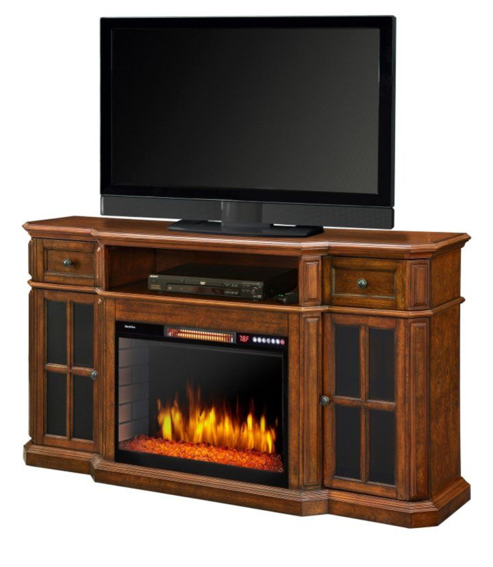 Miraculous Muskoka Sinclair Tv Stand Media Console With Electric Download Free Architecture Designs Scobabritishbridgeorg