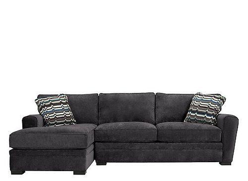 Pleasant Artemis Ii 2 Pc Microfiber Sectional Sofa Living Room Beatyapartments Chair Design Images Beatyapartmentscom