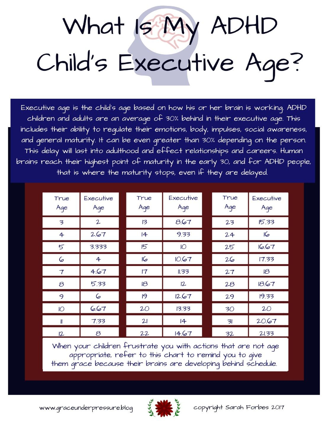What Is My Adhd Child S Executive Age