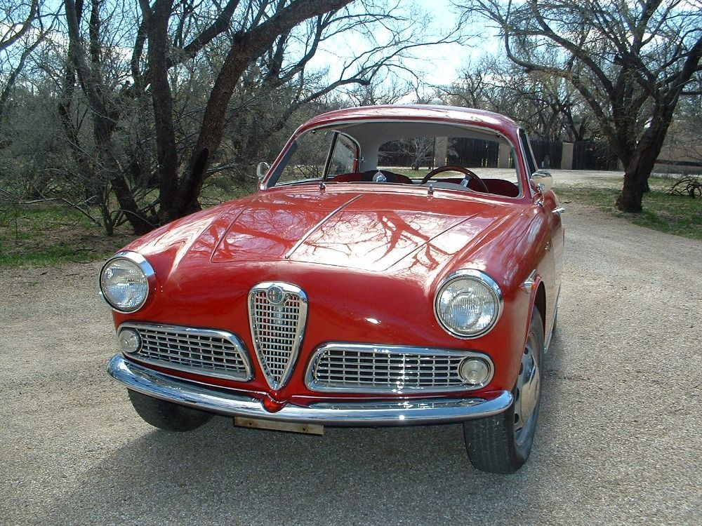 1959 Alfa Romeo Giulietta Sprint Is A Very Rare And Special Car Red