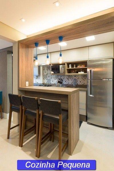 Modelo de cozinha pequena kitchen cabinets pinterest for Cocinas super pequenas