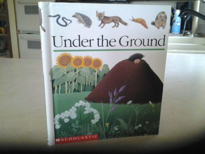 First Discovery Book Under The Ground Books Scholastic Book Cover
