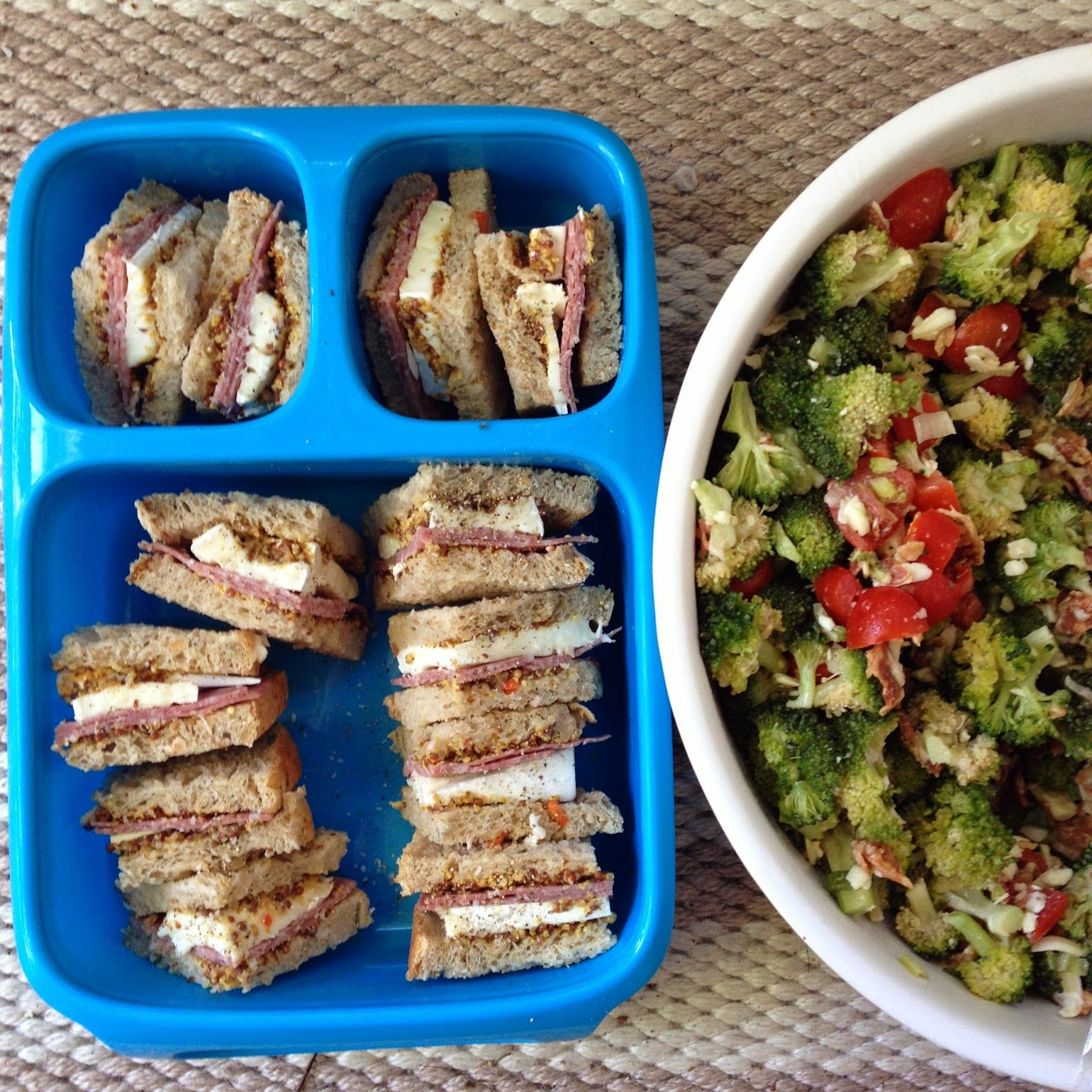 Broccoli Salad + Saks Sale