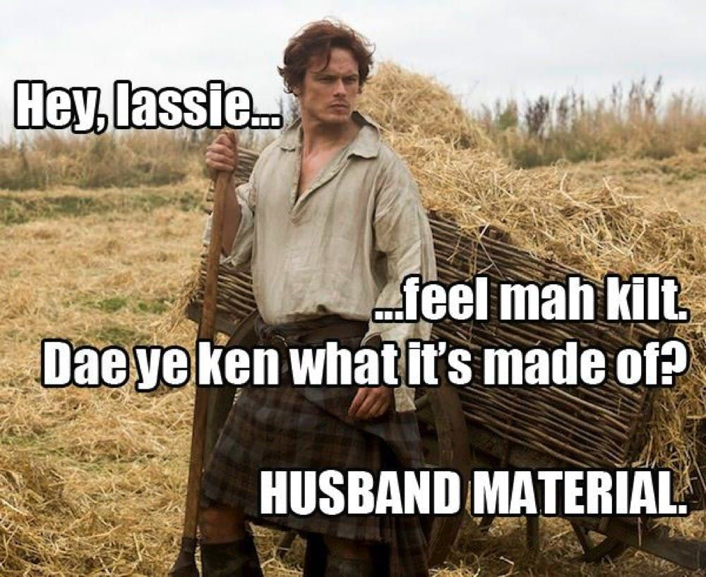 15 Inappropriate Ou15 Hilariously Inappropriate Outlander Memes