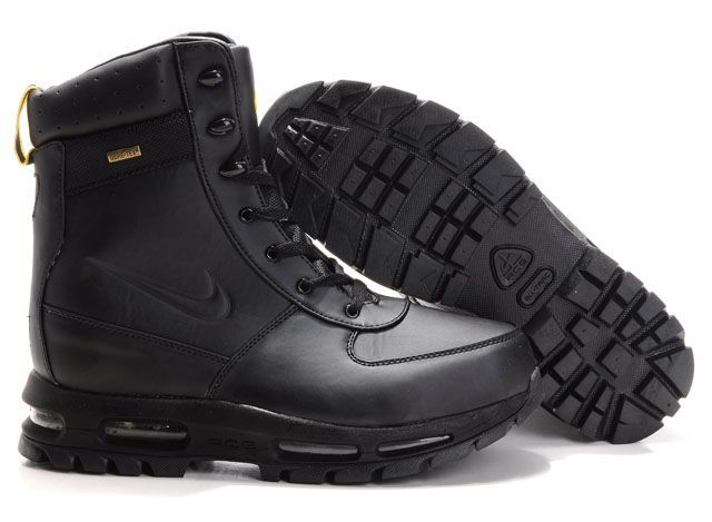 new arrivals 0a7e9 96f45 nike boots acgNike Air Max Acg Mens Boots Black Gold Logo 7A2Od2R6