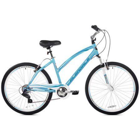 Kent 26 Glendale Women S Cruiser Bike Blue Walmart Com Comfort Bicycle Cool Bike Accessories Hybrid Bike