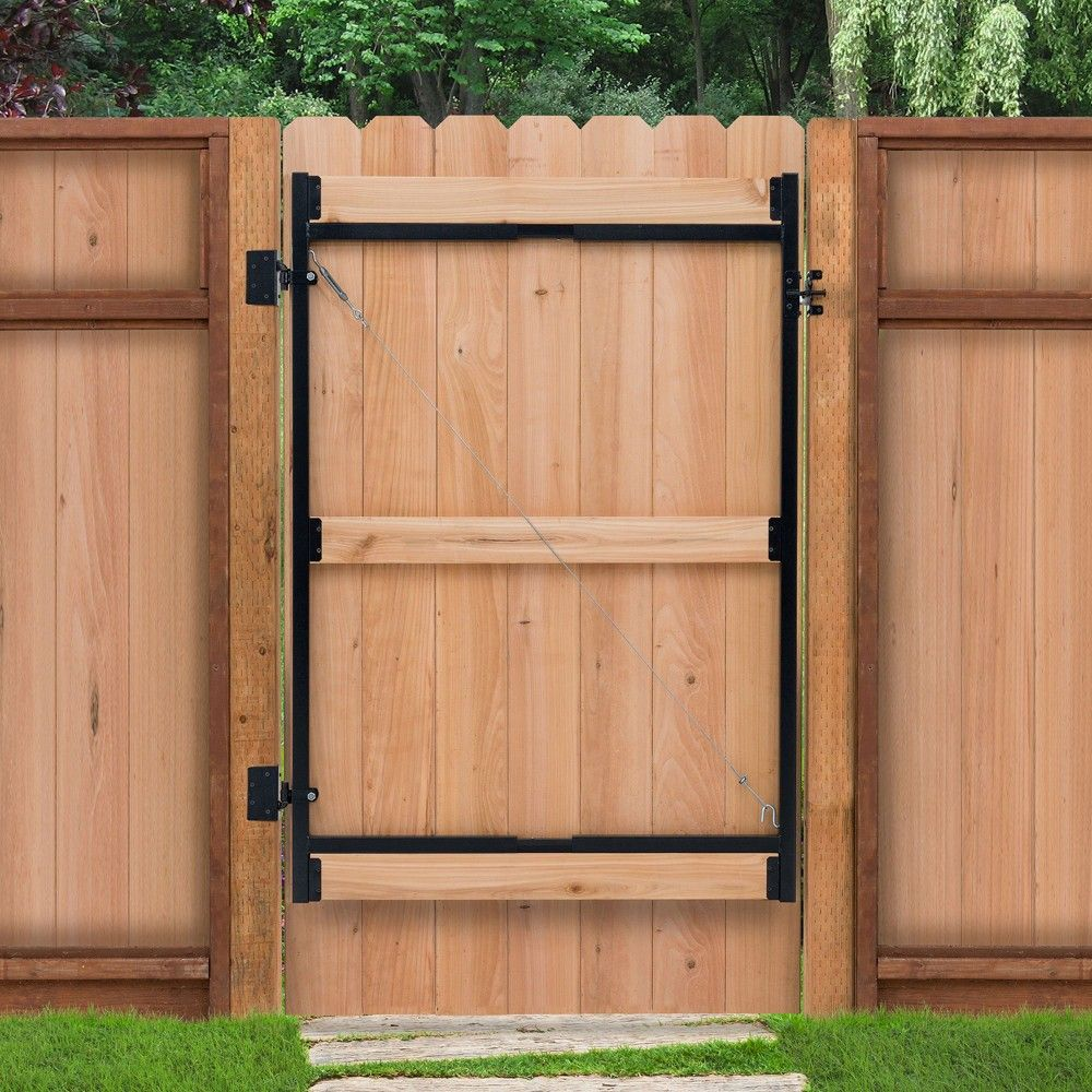 Adjust A Gate Steel Frame Gate Building Kit 60 96 Wide Opening Up To 6 High Adjust A Gate
