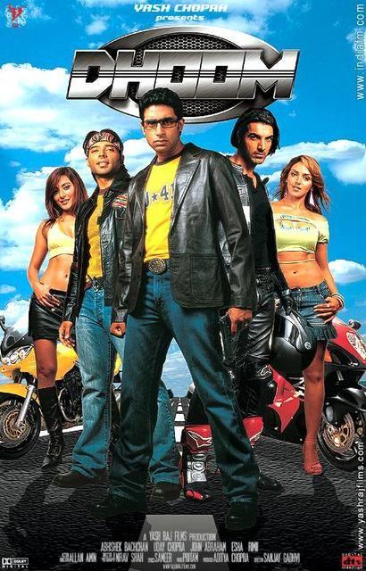 فيلم الاكشن الرائع Dhoom 1 Dvdrip Xvid Bollywood Action Movies Full Movies Hindi Movies