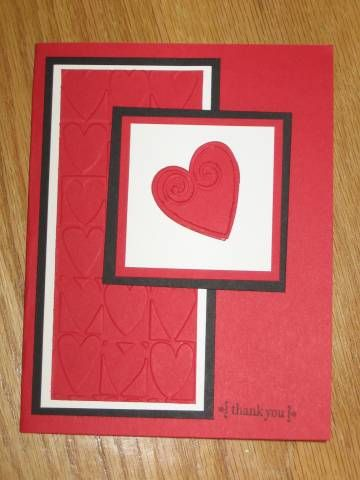 AHA thank you card by lisabingham - Cards and Paper Crafts at Splitcoaststampers