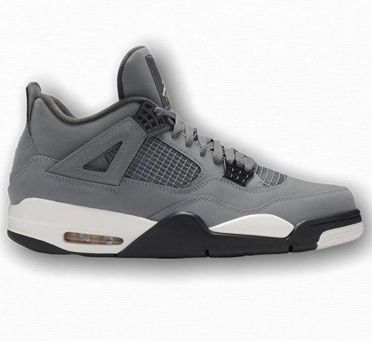 Air Jordan 4 Retro Cool Grey Available