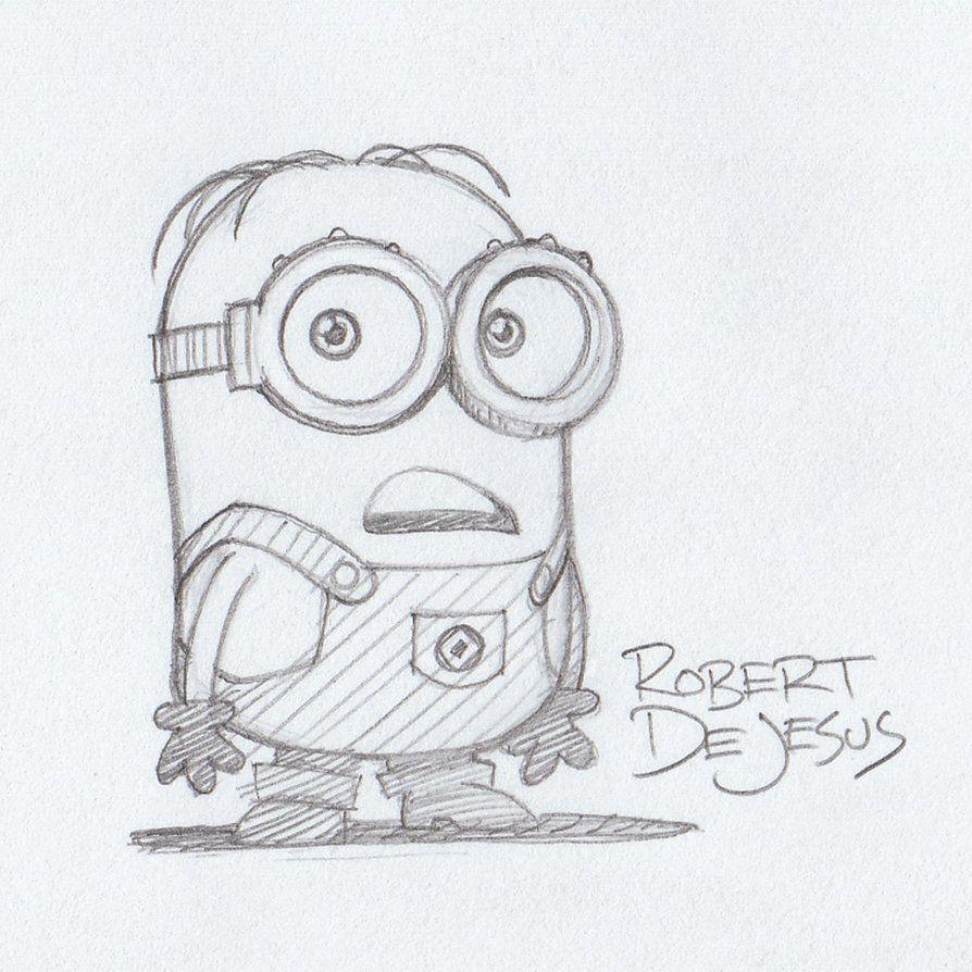 Minion Despicable Me by Banzchan on deviantART   Minion drawing ...
