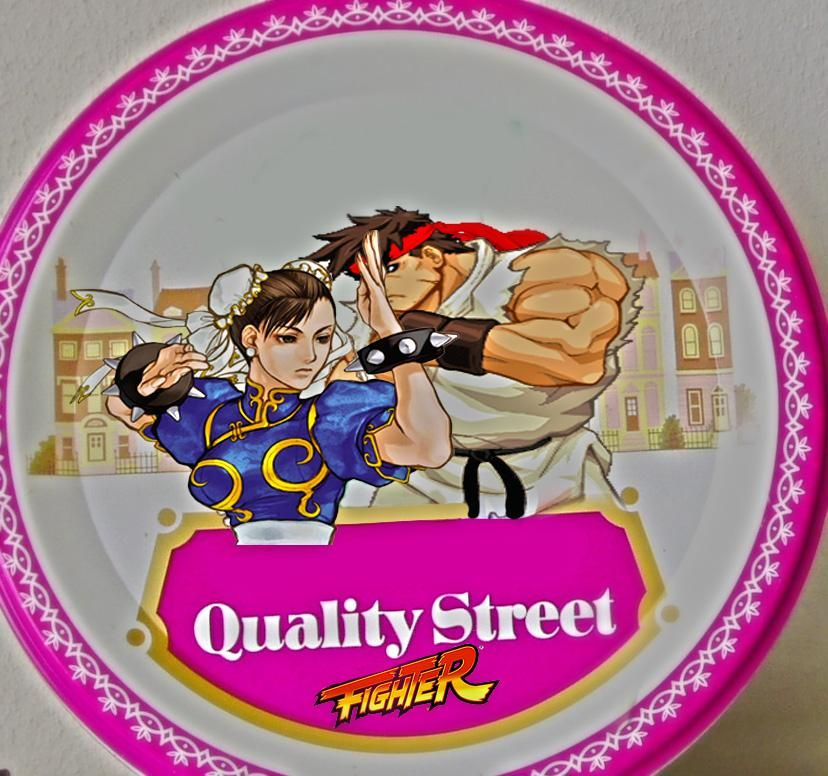 Quality Street Fighter #retirezmoiphotoshop