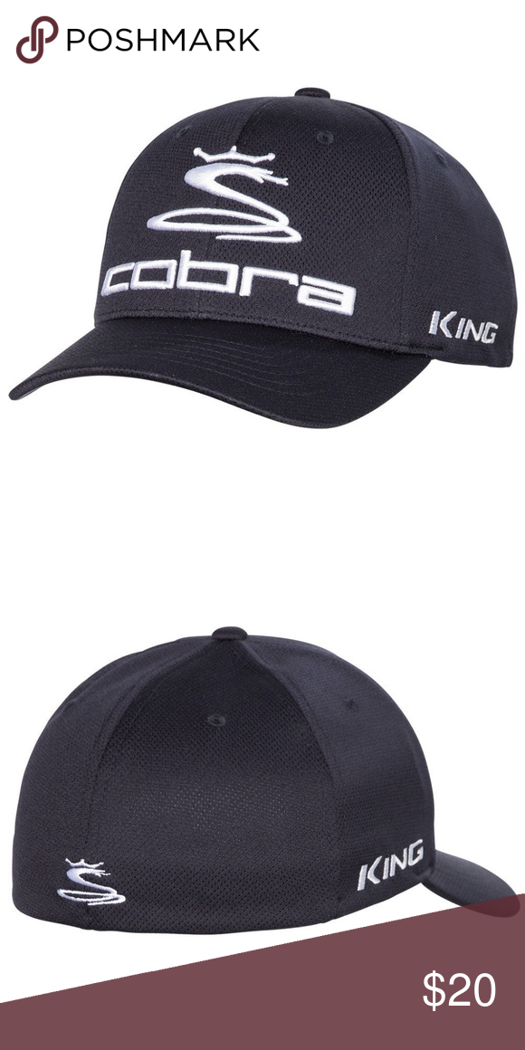 b10bbba7017 NWT Cobra Pro Tour Cap from PUMA in Navy New w Tags