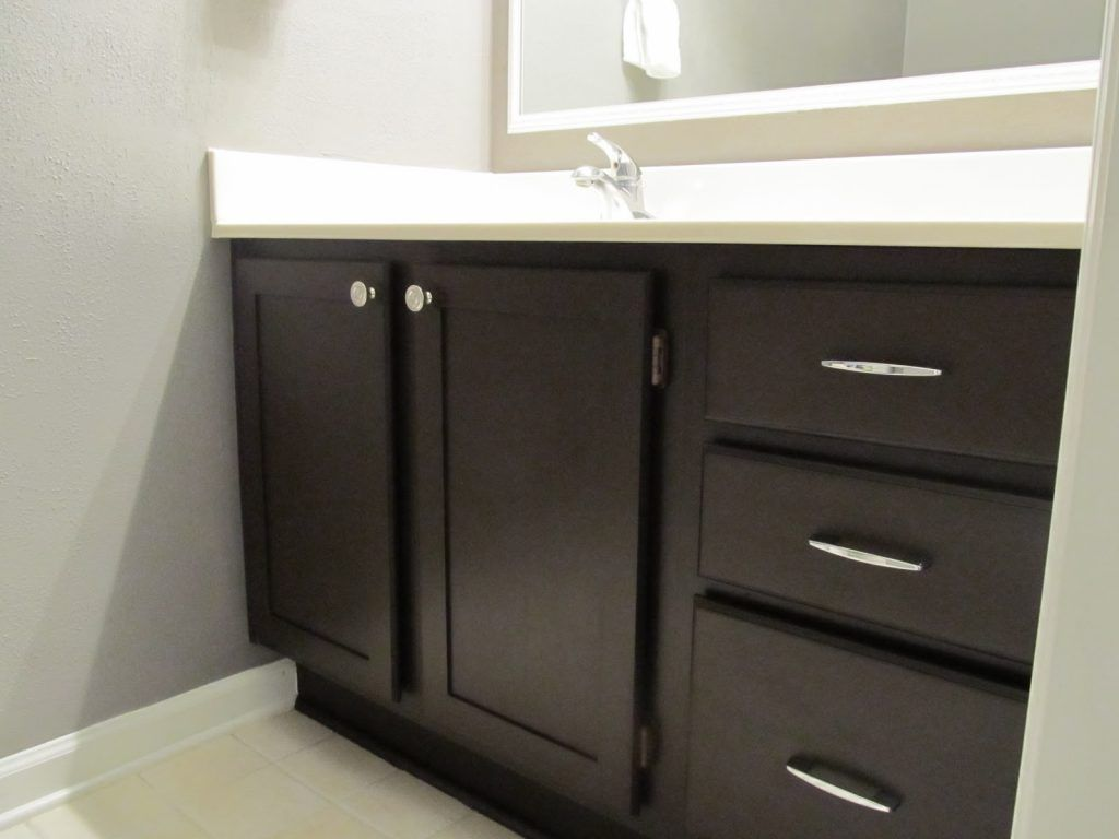 Best Painting Bathroom Cabinets